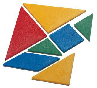 Tangram De Plastico Los 30 Hermex