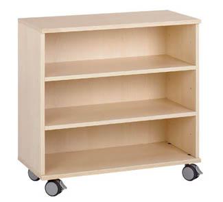 Mueble b ruedas 2 estantes tienda hermex for Muebles de cocina con ruedas