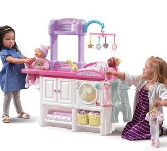 Centro de juegos para muñecas Nursery