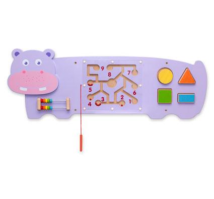 Panel de juego el hipopótamo el conjunto