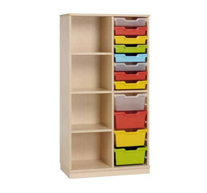 gamma cupboard 111 up to 16 trays + 3 shelves