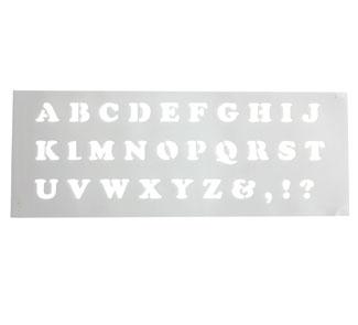 Plantilla alfabeto la unidad