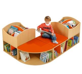 Muebles para libros biblioteca infantil for Muebles para libros