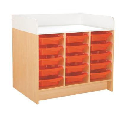 Mueble cambiador kazéo l: 104 cm 15 stop-cubetas el conjunto-TIENDA ...
