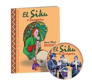 Metodo de flauta de pan o siku (libro+cd)
