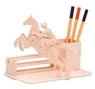 Portalápices caballo, easy-line