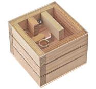Cubo laberinto de metacrilato de 3 niveles