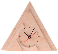 Reloj wood-design