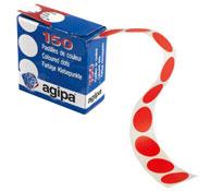 Caja distribuidora de gomets redondos los 150