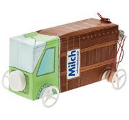 Vehículo reciclado con transmisión por correas