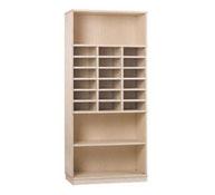 Basic jumbo cupboard 1 shelf and 18 pigeonholes