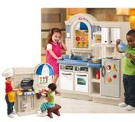 Cocina barbacoa para niños