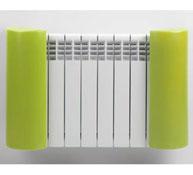 Set of protecteurs for radiators