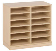 12 shelves basic unit