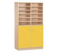 Basic cupboard 12 shelves + door