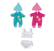 Ropitas para muñecas baby -muñecos 21 cm set de 3
