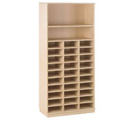 Basic jumbo cupboard 30 pigeonholes and shelves