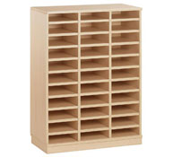 Medium cupboard 33 compartments with pigeonholes
