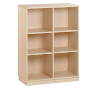 6 pigeonholes medium cupboard