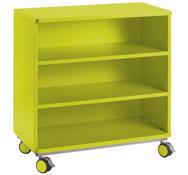Mueble citrus con ruedas + 2 estante