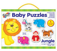 Lote 6 baby puzzles animales