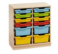 Mueble delta 2 con cubetas variadas (comp.catalogo)
