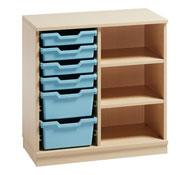 Mueble delta 11 con cubetas y estantes (comp.catalogo)