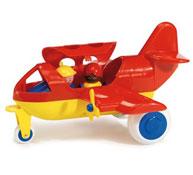 Avion con personajes