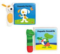 Libros de plastico con personajes