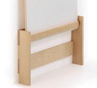 Soporte especial mesa plegable t0 paredes de pladur