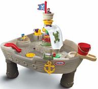 Mesa acuatica los piratas
