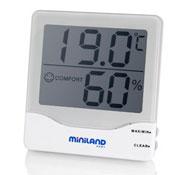 Termometro ambiental higrometro