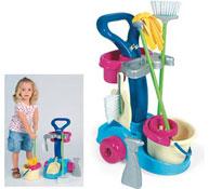 Carrito de limpieza-5 accesorios