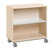 1 shelf combi unit + wheels