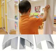 Antipinzamiento protector de dedos para puerta