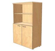Direccion - armario a.142 con 3 estantes y puertas pequeñas