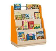 Book display pyramid unit ORANGE