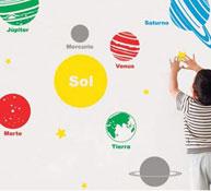Decoración sistema solar