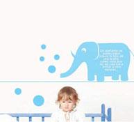 Decoración un elefante