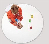 Espejo de suelo circular diam 100 cm