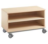 Mueble base pequeño c/ruedas sin puertas
