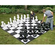 Piezas ajedrez gigante set de 32 piezas