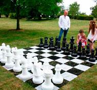 Tablero rigido para ajedrez y damas set de 64 casillas