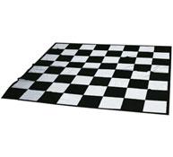 Tablero lona para ajedrez y damas