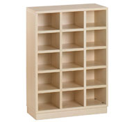 15 pigeonholes shoe unit