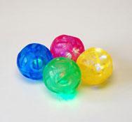 Bolas de luz irregulares 4 unidades