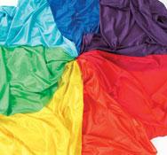 Telas multicolor 7 telas
