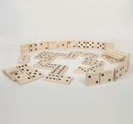 Domino gigante de madera