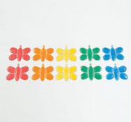Las mariposas destellos 10