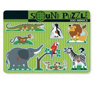 Puzzle de animales zoológicos sonoros